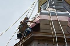 Saint Mary's gets a new steeple.