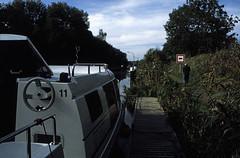 Hausboottour (109) Schleuse Neuburg (Siggelow)