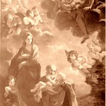Ariccia Coll. S. Maria Assunta Riposo nella fuga in Egitto 1663 di L. Gimignani a