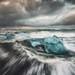 Jökulsárlón Storm Break, Iceland by Jim Patterson Photography
