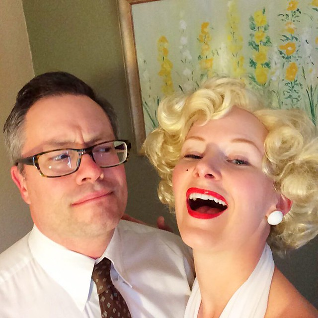 "Celebrating our 7 year anniversary last night with a ""The Seven Year Itch"" extravaganza!"