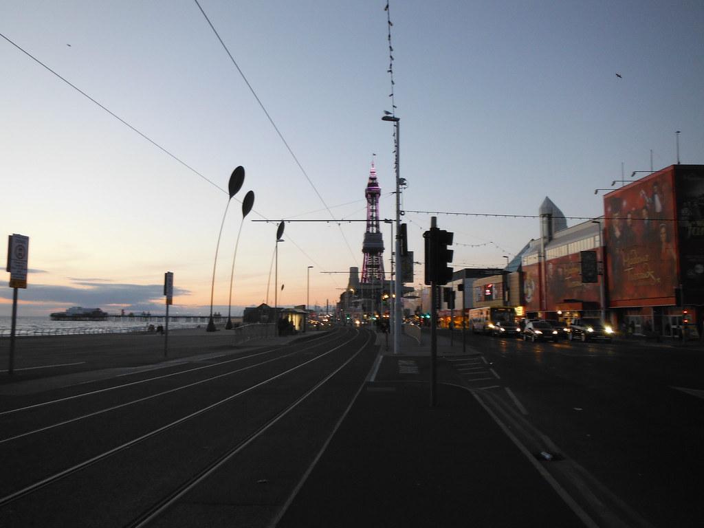 Blackpool Tram Lines