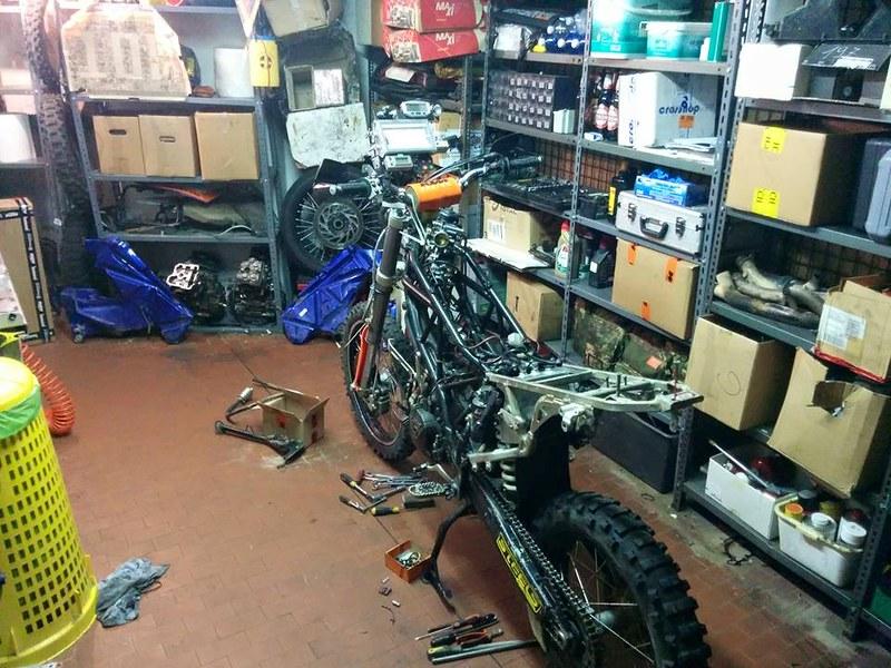 KTM 950 Adventure Rebuild