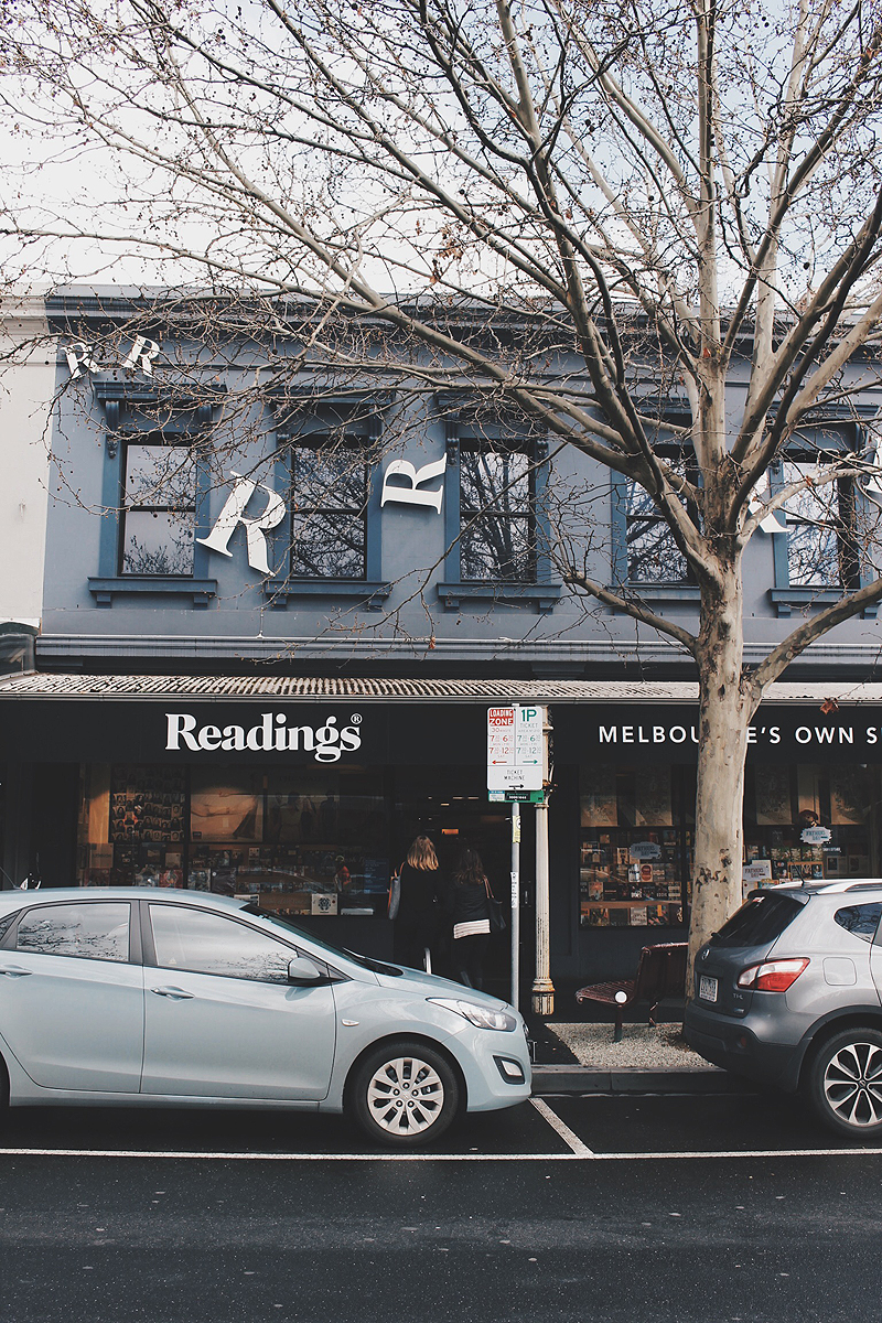 Readings, Melbourne, Books, Carlton, Bramble and Thorn