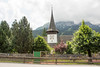 День 8. Дорога до люцерна - напротив находятся церковь и детская площадка