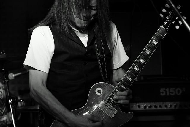 Molten Gold live at Crawdaddy Club, Tokyo, 12 Sep 2015. 074