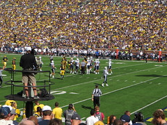 BYU Cougars vs. Michigan Wolverines, Michigan Stadium, University of Michigan, Ann Arbor, Michigan