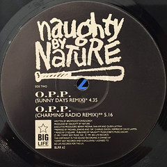 NAUGHTY BY NATURE:O.P.P.(LABEL SIDE-B)