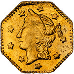 1857-BG-1301A_obv California Gold