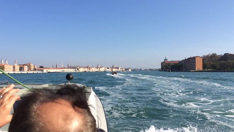 Getting close to Giudecca