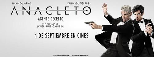 Reseña de cine: Anacleto, Agente secreto