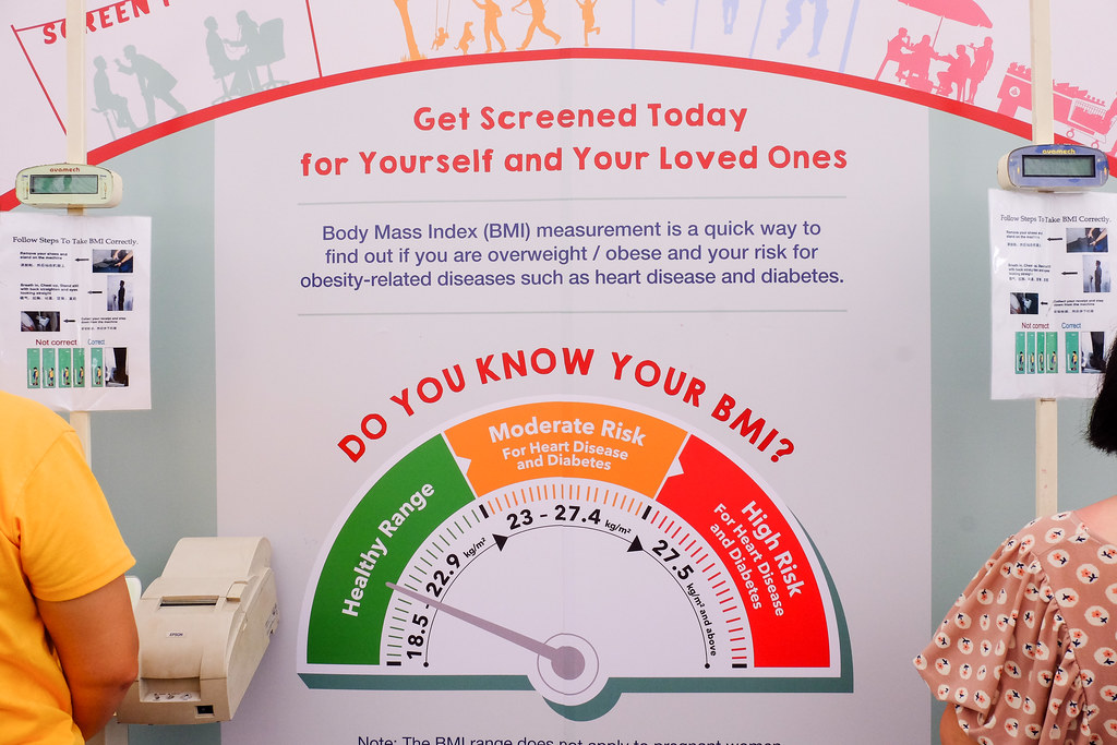 BMI Screening at the Healthy Lifestyle Festival SG