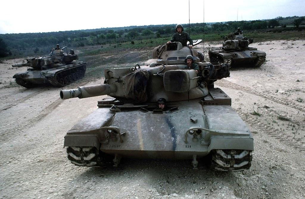 M60A2 tanks