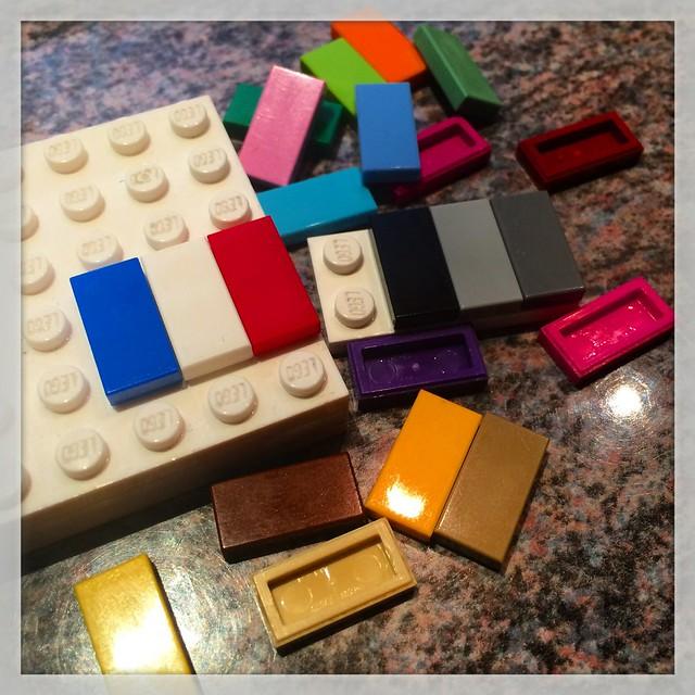 drei farben