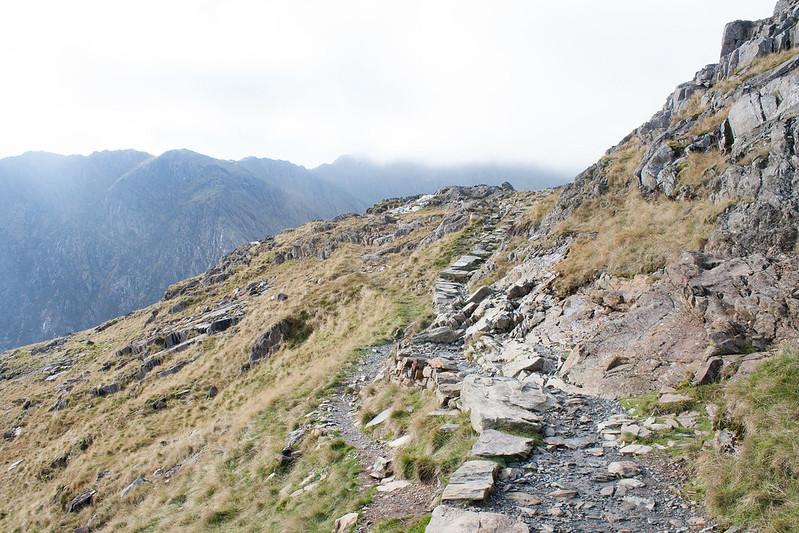 Pyg track, Snowdon