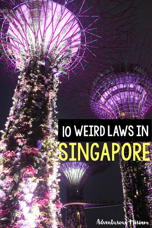 If you're thinking of heading to Singapore, you should be aware that the country has important regulations, some of which may seem harsh. Here's a list of the 10 weirdest laws in Singapore.