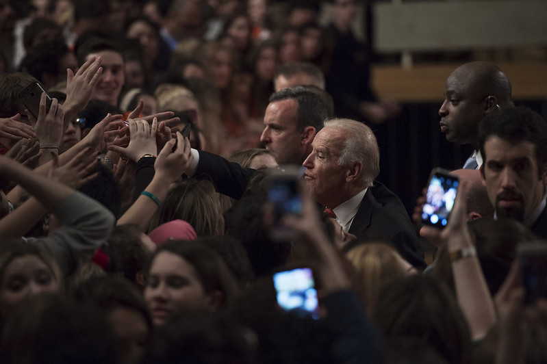 Joe Biden talks at SU for It's On Us Campaign