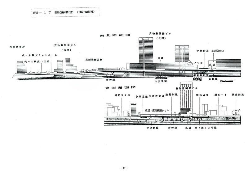 上越新幹線新宿駅構想 (5)