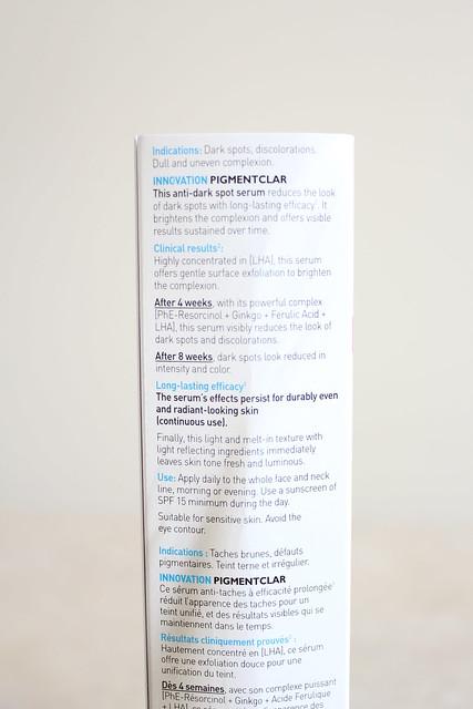 La Roche-Posay PigmentClar Serum review