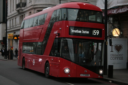 Abellio London LT608 on Route 159, Marble Arch