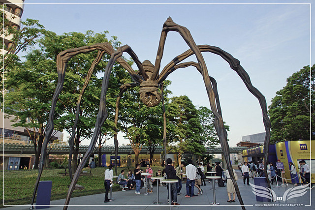 The Establishing Shot: STAR WARS VISIONS EXHIBITION - LOUISE BOURGEOIS' MAMAN SCULPTURE IN ROKU-ROKU PLAZA ROPPONGI HILLS MORI TOWER, TOKYO