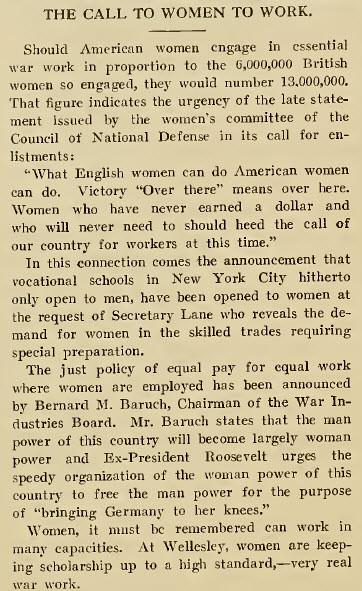 The Wellesley News (10-03-1918)