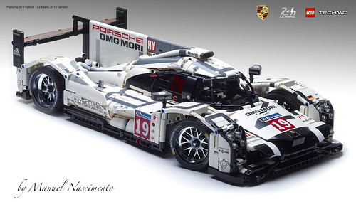 LEGO Technic - Porsche 919 - Le Mans 2015 v.