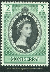 Stamps Commonwealth 1953 Coronation
