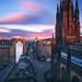 Edinburgh - Royal Mile from Camera Obscura