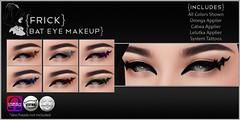 {Frick} Bat Eye Makeup