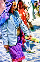 Men's fashion in Yemen, only authentic with the  jambiya
