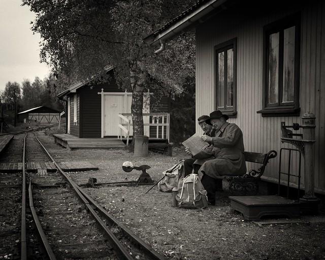 Old railroad station
