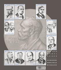 16 Prix Nobel feuillet eÌclairci New format 165mm NEW 5-2