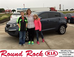 #HappyBirthday to Christy from Ruth Largaespada at Round Rock Kia!