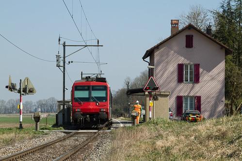 Henniez | CH-VD (Vaud) | 21.03.2014 | SBB-RBDe 562