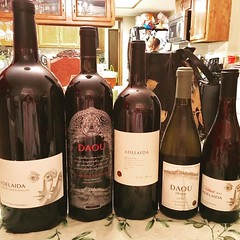 The #weekend #haul #jeroboam #magnums @daouvineyards @daniel.j.daou @adelaidavineyards #veryspecialday #winelibrarian #winetasting #thanksgiving