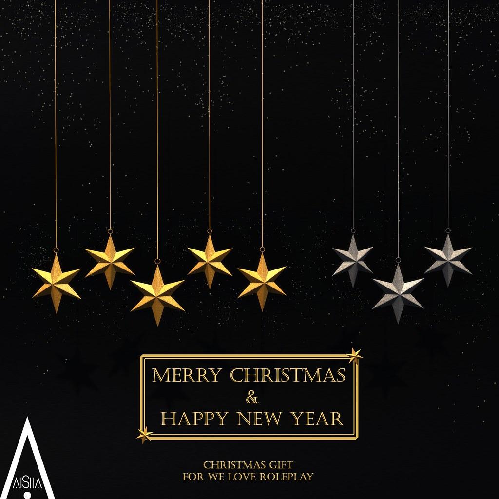 AiShA Hanging Stars Christmas Gift @ WLRP - SecondLifeHub.com