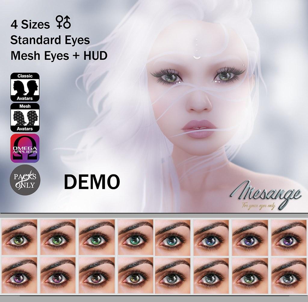 MESANGE - Lark Rise Eyes for Chapter Four - SecondLifeHub.com
