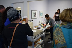 CREATE Center-Sallé Kirby Printmaking Demo