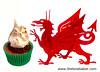 Tiesen Sinamon (Welsh cinnamon cake) cupcakes