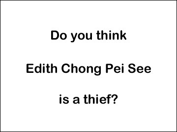 edith chong thief J