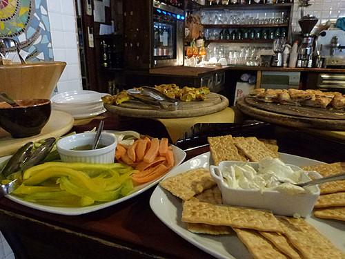 buffet d'antipasti à Lucca 2