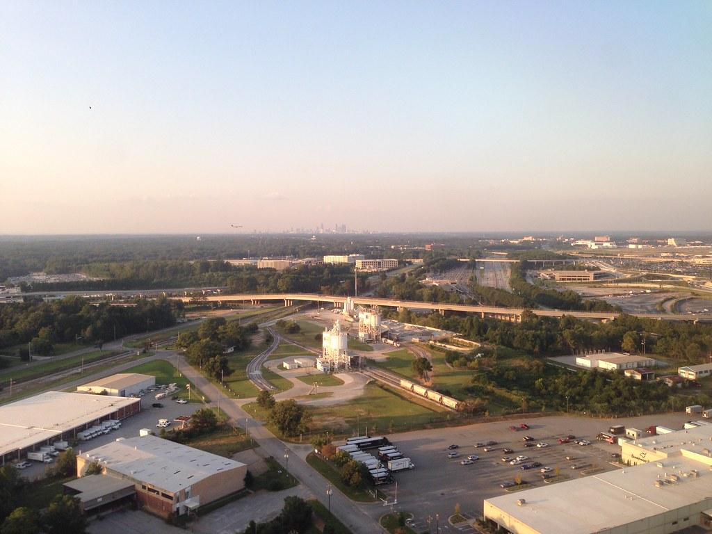 Approaching Atlanta