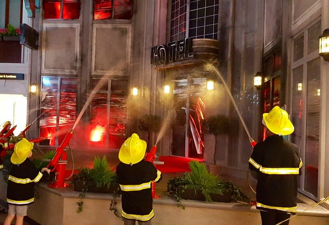 Kidzania London fire department