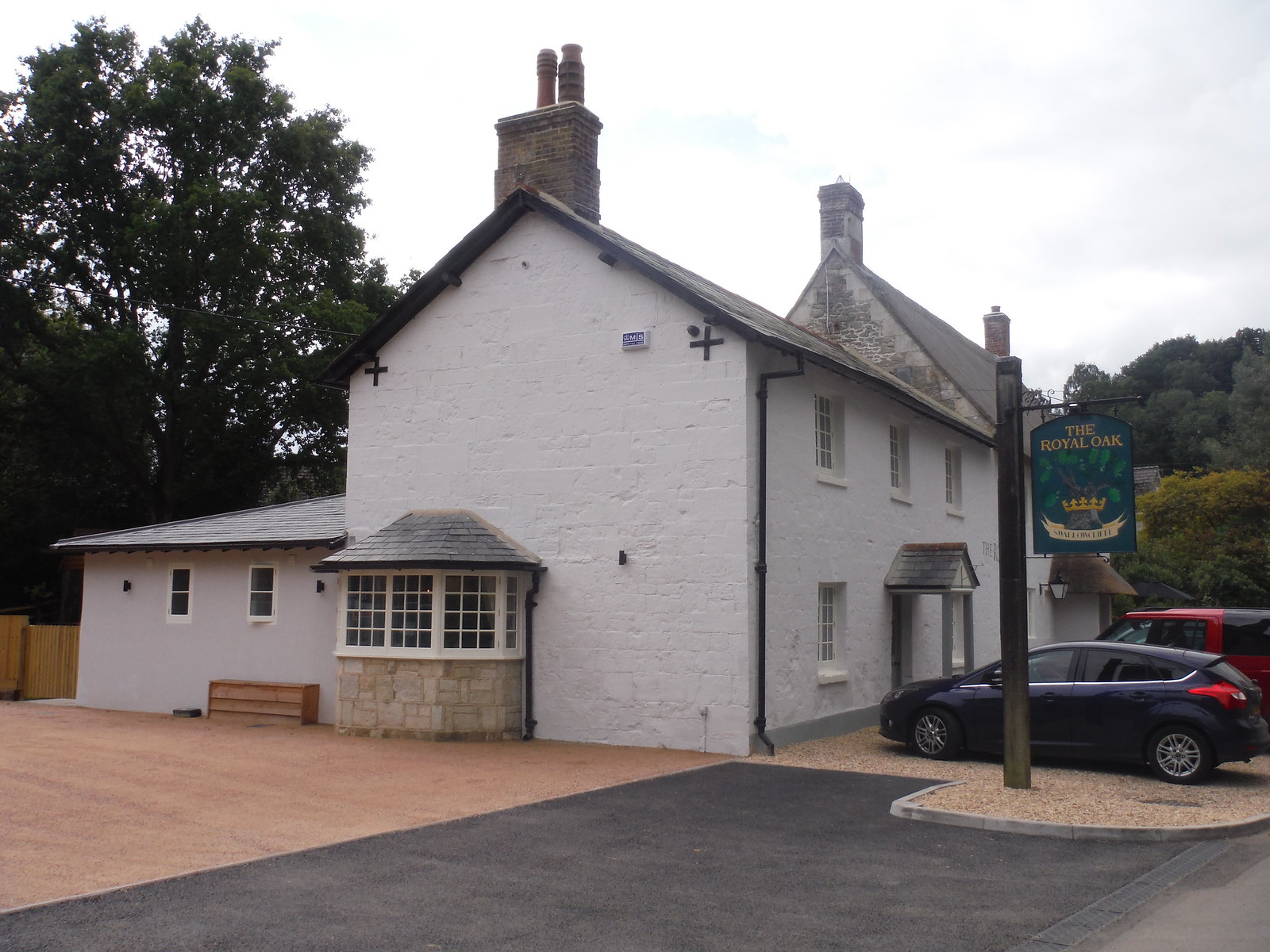 The Royal Oak, Swallowcliffe SWC Walk 250 Tisbury Circular via Alvediston