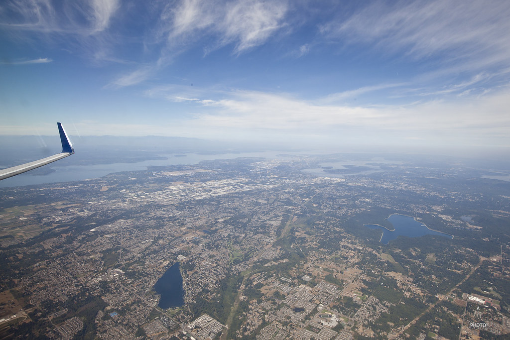 Greater Seattle from the air