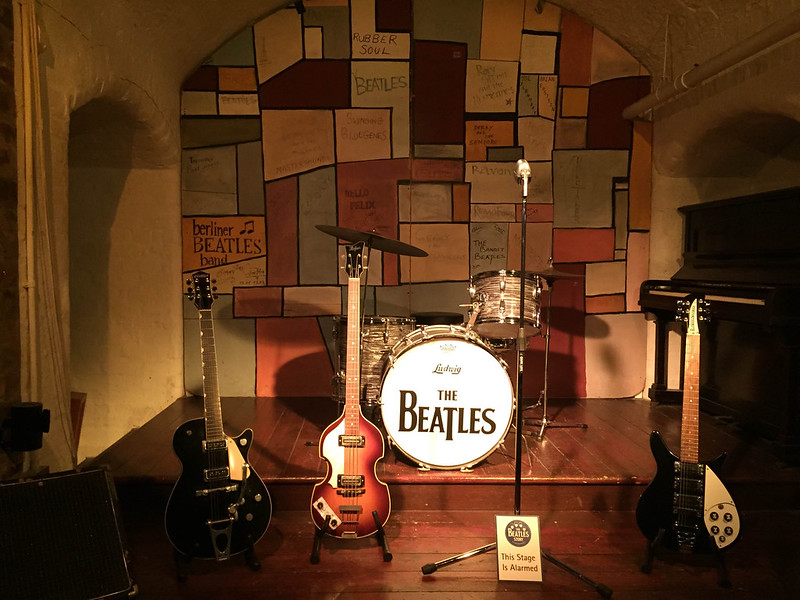 Cavern Club replica at the Beatles Story in Liverpool