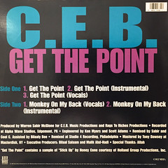 C.E.B.:GET THE POINT(JACKET B)