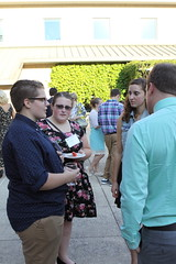 2015 Scholarship Donor Appreciation Dinner, Lenfestey Courtyard, September 16, 2015