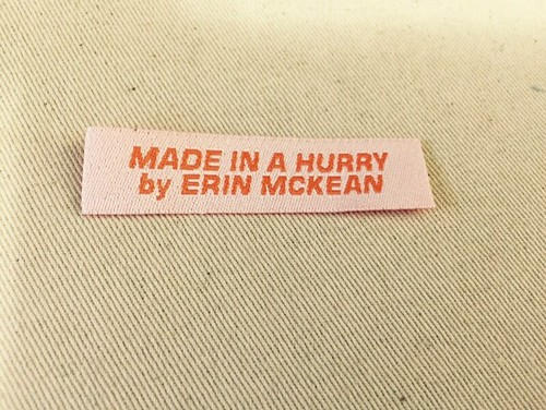 made in a hurry by Erin McKean